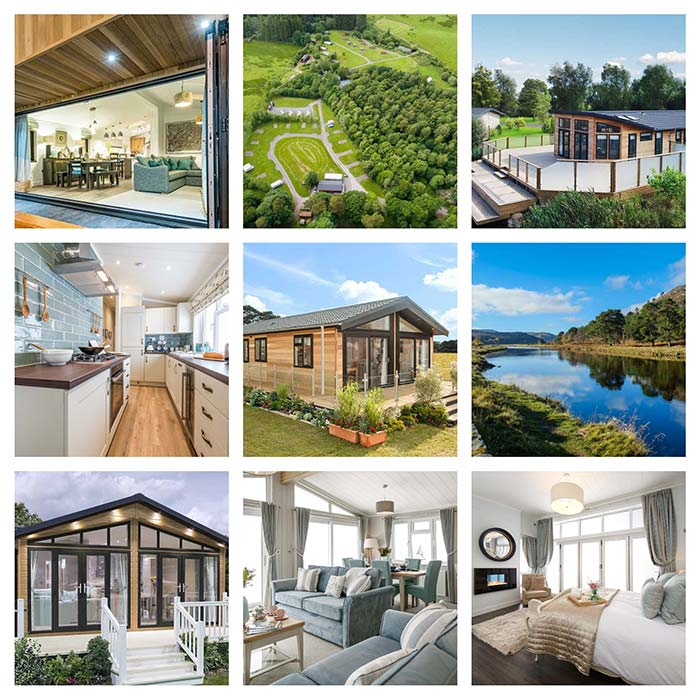 Site and Lodges Images